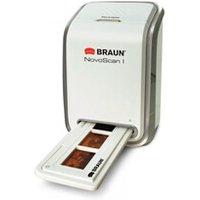Scanner Braun Phototechnik Braun novoscan i scanner négatifs et diapositives résolution 1800 dpi usb 2.0