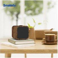 Enceinte sans fil AUCUNE Haut-parleur portable bluetooth stéréo hi-fi 3d en bois tws loudpeaker fm