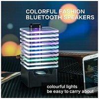 Enceinte sans fil AUCUNE Creative led sans fil bluetooth haut-parleur portable décore boîte haut-parleur couleurs