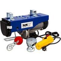 Echelle Helloshop26 Palan treuil électrique pro avec télécommande 1 600 w 500/1 000 kg outils atelier garage helloshop26 3414045