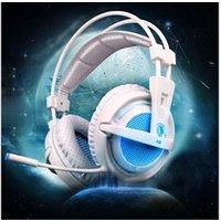 Casque de scène AUCUNE Sades a6 gaming headset bandeau casque avec microphone réglable