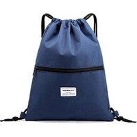 Cartable scolaire Generic Mode unisexe imperméable zipper ensemble corde voyage sport sacs à dos école 1739