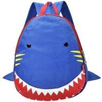 Cartable scolaire Generic Bébé garçons filles enfants motif shark animaux sac à dos enfant en bas âge sac d'école 215