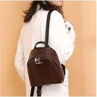 Cartable scolaire Generic Mode féminine alligator voyage étudiant motif école sac à dos sac à bandoulière 1148