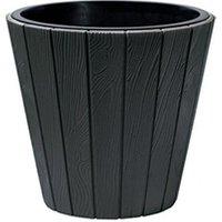 Carré potager Icaverne Jardiniere - bac a fleur prosperplast pot rond woode - ø 488 mm - gris anthracite