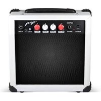 Ampli Guitare Johnny Brooks Amplificateur ultra-portable de guitare blanc 20w/6,5
