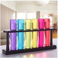 Boisson énergisante Euroweb Lot de 6 verres à shot de type tubes à essai - shooter boisson décoration