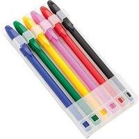Coffrets cadeaux Euroweb Ensemble de stylos de couleurs (6 pcs) - stylos à billes quantité - 6 uds