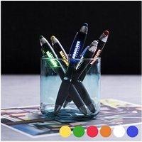 Coffrets cadeaux Euroweb Stylo bleu à pointeur led - idée cadeau stylo lumiere couleur - bleu