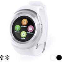 Coffrets cadeaux Euroweb Montre connectée et rechargeable bluetooth - montre intelligente couleur - blanc