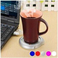 Coffrets cadeaux Euroweb Chauffe-tasses usb - chauffe mug et tasse couleur - argenté