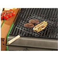 Accessoire barbecue et plancha No-name Inedit grille de cuisson double pour barbecue