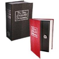 Objet de décoration Euroweb Tirelire livre dictionnaire - sécurité coffre-fort argent cacher argent couleur - noir