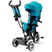 Vélos enfant KINDERKRAFT Aston tricycle évolutif de 9 mois à 5 ans canne de guidage      bleu