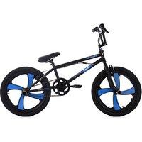 Vélos enfant KS Cycling Bmx freestyle 20'' daemon noir-bleu avec magwheels kscycling