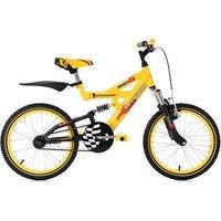 Vélos enfant KS Cycling Vtt enfant 18'' krazy jaune tc 32 cm ks cycling