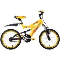 Vélos enfant KS Cycling Vtt enfant 16'' krazy jaune tc 30 cm ks cycling