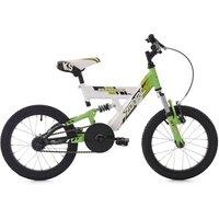 Vélos enfant KS Cycling Vélo enfant 16'' zodiac blanc-vert tc 30 cm ks cycling