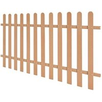 Clôture GENERIQUE Icaverne - piquets de clôture moderne clôture à piquets wpc 200 x 100 cm
