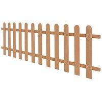 Clôture GENERIQUE Icaverne - piquets de clôture joli clôture à piquets wpc 200 x 60 cm