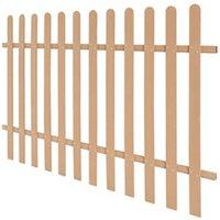 Clôture GENERIQUE Icaverne - piquets de clôture splendide clôture à piquets wpc 200 x 120 cm