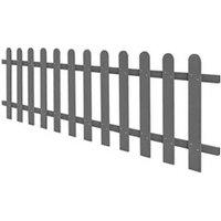 Clôture GENERIQUE Icaverne - piquets de clôture splendide clôture à piquets wpc 200 x 60 cm