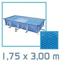 Bâche de piscine Linxor Bâche à bulles rectangle 1,75 x 3,00m 180 microns