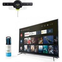 TV LED Tcl Pack téléviseur tcl  4k ultra hd tv led 43'' 127cm + support tv mural fixe