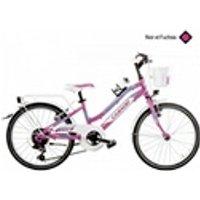 Vélos enfant Casadei Casadei velo mtb 20 lincy 6v noir-fuchsia h28