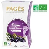 Infusion Pages Pages infusion thym, lavande, romarin - bio