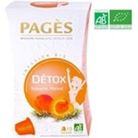 Infusion Pages Pages infusion détox - romarin, abricot - capsules - bio