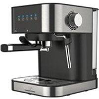 Combiné expresso cafetière Continental Edison Cemeinb machine a expresso - inox