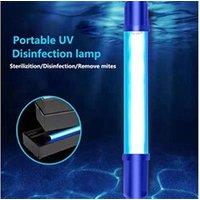 Pièces détachées petit électroménager AUCUNE Timing portable uv-c tube stérilisateur désinfection germicide lampe pour fami