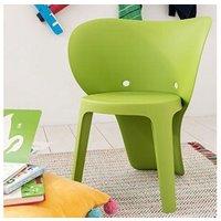 Chambre complète Maisonetstyles Chaise enfant forme éléphant 40x48x55,5 cm verte