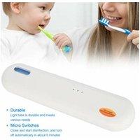 Pièces détachées petit électroménager AUCUNE Uv brosse à dents stérilisateurs box brosse les dents portable clean désinfection sanitizer