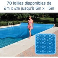 Bâche de piscine Linxor Bâche à bulles rectangle 6 x 14 - 300 microns