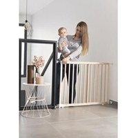 Barrière de sécurité bébé Icaverne Barriere de securite bebe badabulle deco pop bois barriere de sécurité extensible fixation pression & vis (63,5 - 106cm)