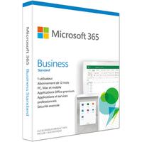 Logiciel Microsoft 365 BUSINESS STANDARD 1 AN D'ABONNEMENT 1 PERSONNE