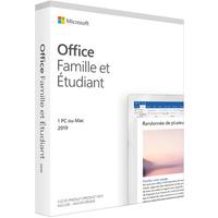 Logiciel Microsoft Office 2019 Famille Etudiant
