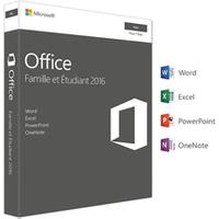 Logiciel Microsoft Office Famille et Etudiant 2016 1 Mac