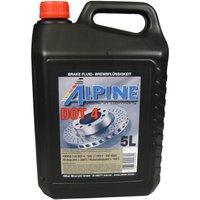 Alpine Brake Fluids Remvloeistof DOT4 5 liter kan
