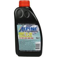 Alpine Brake Fluids Remvloeistof DOT4 LV 1 liter doos