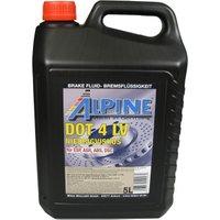 Alpine Brake Fluids Remvloeistof DOT4 LV 5 liter kan