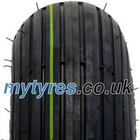 Veloce V5501 Rille SET ( 4.00 -4 4PR TT NHS, SET - Tyres with tube, schwarz )