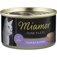 Katzen Nassfutter »Feine Filets in Jelly«, 24 Dosen à 100 g