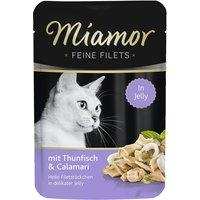 Katzen Nassfutter »Feine Filets in Jelly«, 24 Beutel à 100 g