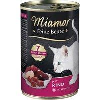 Katzen Nassfutter »Feine Beute«, 12 Dosen à 400 g