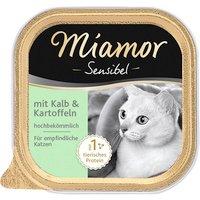 Katzen Nassfutter »Sensible«, 16 Schalen à 100 g