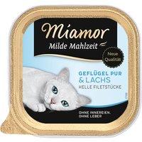 Katzen Nassfutter »Milde Mahlzeit«, 16 Schalen à 100 g