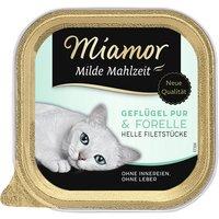 Katzen Nassfutter »Milde Mahlzeit«, 16 Stück à 100 g